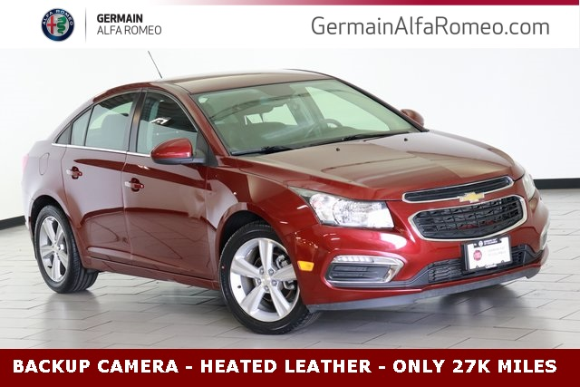 Pre-Owned 2016 Chevrolet Cruze Limited 2LT