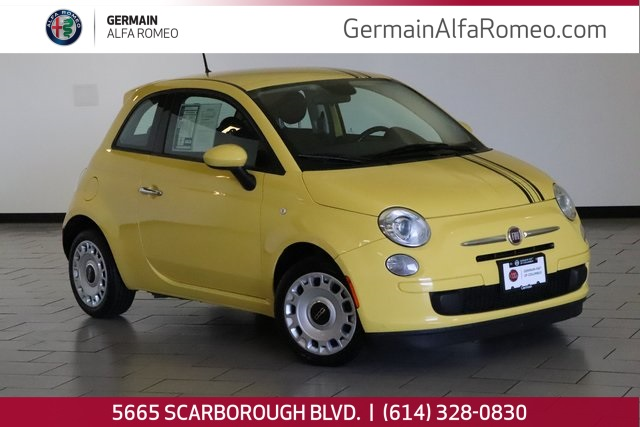 Fiat 500 Pop >> Pre Owned 2014 Fiat 500 Pop Fwd 2d Hatchback