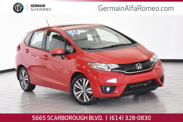 Pre-Owned 2016 Honda Fit EX-L